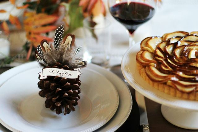 turkey-pinecone-placecard